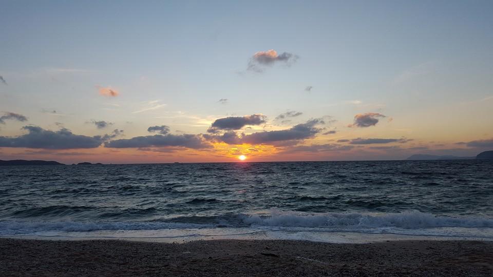 La plage de l'almanarre