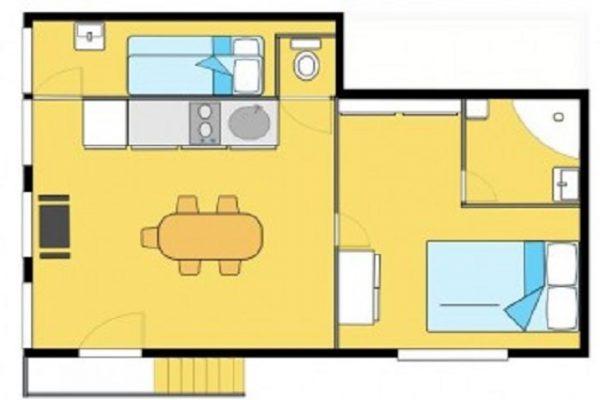 Clair De Lune : appartement sérénité - plan