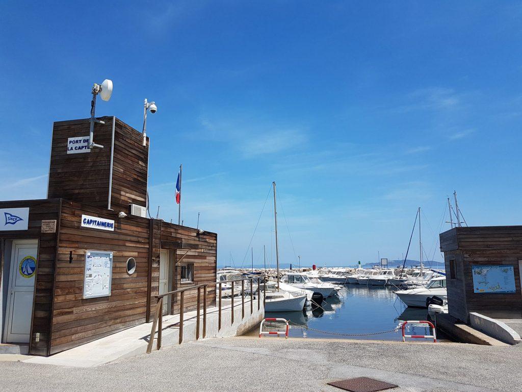 Clair De Lune : Port De La Capte Giens Hyeres Camping