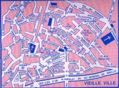 Clair De Lune : Hyeres Plan Vielle Ville S