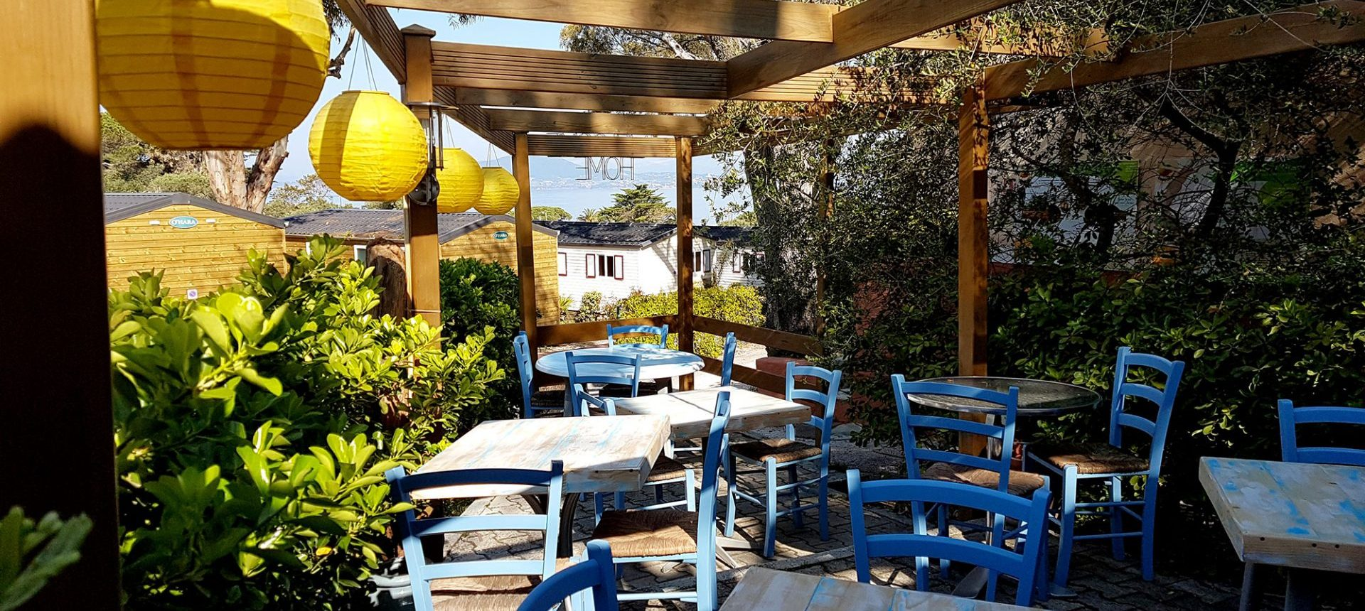 Clair De Lune : Restaurant Vue Mer Camping Giens Hyeres